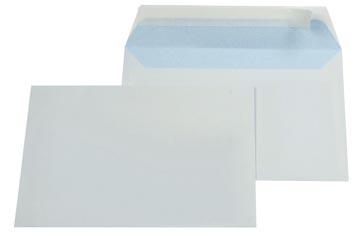 Gallery enveloppen ft 114 x 162 mm, stripsluiting, binnenzijde blauw, doos van 500 stuks