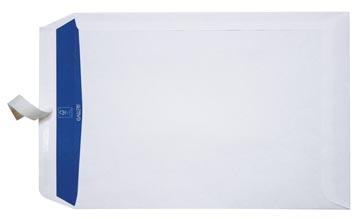 Gallery enveloppen ft 230 x 310 mm, stripsluiting, binnenzijde blauw, doos van 250 stuks
