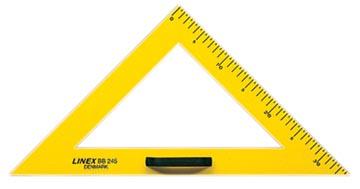 Linex schoolbord geodriehoek