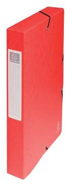 Exacompta elastobox Exabox rood, rug van 4 cm