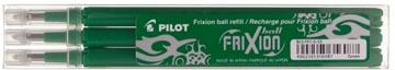 Pilot Vullingen voor Frixion Ball en Frixion Click groen