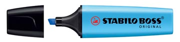 STABILO BOSS ORIGINAL markeerstift, blauw