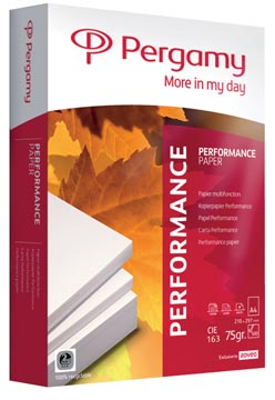 Pergamy Performance printpapier ft A4, 75 g, pak van 500 vel