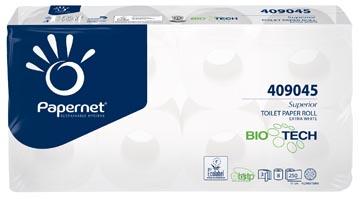 Papernet toiletpapier Superior, 3-laags, 250 vellen, pak van 8 rollen