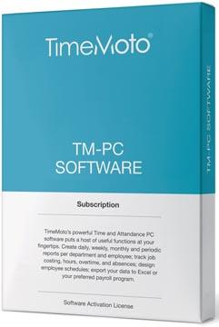 Safescan software voor tijdsregistratiesystemen, TimeMoto Pc