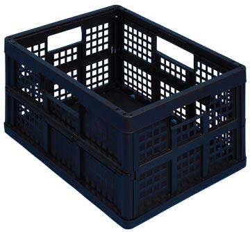 Really Useful Box plooibox 32 liter, zwart